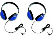 Califone 2800-BL Listening First Headphones in Blue