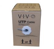 New 80m bulk Cat5e LAN Ethernet Cable / Wire UTP Pull Box 80m Cat-5e Grey ~ VIVO
