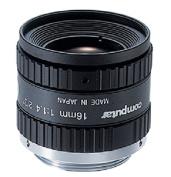 """Computar M1614-MP2 2/3"""" 16mm F1.4 Manual Iris C-Mount Lens w/ Locking Iris & Focus, 1.5 Megapixel Rated"""