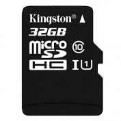Kingston - flash memory card - 32 GB - microSDHC