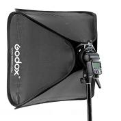 Godox 80x80cm Softbox Bag Kit for Camera Studio Flash Fit Bowens Elinchrom Mount