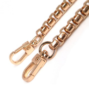 Top Grade 7mm Golden Box Metal Iron Chains Handbag Chains Purse Straps Metal Iron Handbag Straps 59 Inches