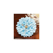 Blue Hydrangea Clock - Hand Painted Flower Clock By Ibis & Orchid Designs