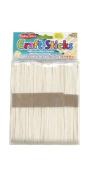 Charles Leonard Craft Sticks, Jumbo Size, 15cm X 1.9cm , 75/Bag