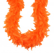 Touch of Nature Chandelle Boa for Arts and Crafts, 60gm, 2-Yard, Orange
