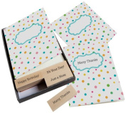 Hero Arts Add Your Message Polka Dot Cards with Messages