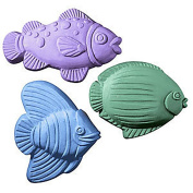 Three Fish-Nautical Milky Way Soap Mould