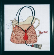 Design Works Leopard Purse Cross Stitch Kit