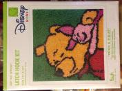 Caron International Pooh & Piglet Latch Hook Kit