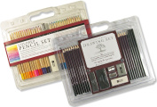 Studio Series Drawing Set and Coloured Pencil Set Value Pack