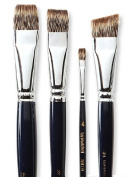 Royal & Langnickel ROYAL & LANGNICKEL Langnickel Royal Sable Brushes Short Handle 16 bright