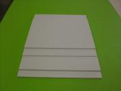 White Polystyrene 30cm X 30cm X 0.3cm Plastic Sheet Styrene