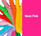 Zipperstop Wholesale YKK® 23cm YKK Zipper #3 Skirt & Dress Zippers Colour Neon Pink