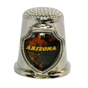 Souvenir Thimble - Arizona - AZ