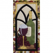 Wine Time Quilt Magic Kit-24cm x 48cm
