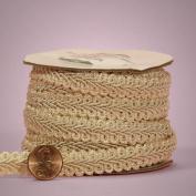Ivory Gimp Braid Trim, 1.6cm X 10yd
