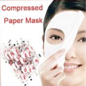 KMG 100 pcs Skin Face Care DIY Facial Paper Compress Masque Mask