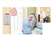 Cordless Bed & Chair Alarm System - No Alarm in Patient Room!