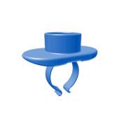 PAC-DENT 31 Prophy Paste Rings 6 x Plastic Rings Per Pack
