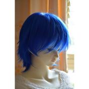 "Sexy Heat Friendly Short Layered Wavy Curly Lolita Princess Cosplay Party Hair Wig 14"" 35cm"