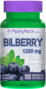 Bilberry Extract 1200 mg 100 Capsules