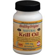 Healthy Origins 1352368 Krill Oil 500 mg 60 Softgels