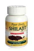 Shilajit-Extract 600mg Per Cap(50% Fulvic Acid-300mg*)-60 Veggie Caps