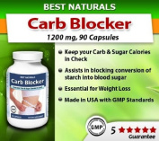 Best Naturals #1 Carb Blocker with White Kidney Bean Extract -- 90 Capsules