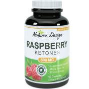 Pure Raspberry Ketones Plus, Certified Full Strength, 500 mg, 60 Capsules