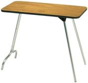 Surco 1632W 41cm x 80cm Walnut All Purpose Table