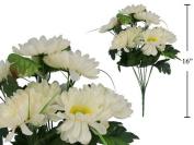 Artificial Flower, 10-stem Deluxe Gerbera