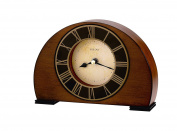 Bulova B7340 Tremont Clock, Antique Walnut Finish