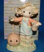Precious Moments Holloween Figurine (You Brighten My Field of Dreams) #587850