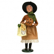 Byers Choice Witch with Pumpkin