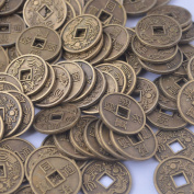 20pcs Chinese Fortune Coins Feng Shui Dragon I Ching Coin Y1049