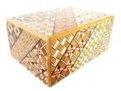Yosegi Puzzle Box 4 sun - 7 steps