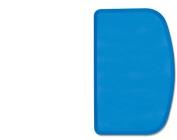 Deglon Stiff and Straight Plain Plastic Scraper