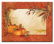 CounterArt Glass Cutting Board, 38cm by 30cm , Autumn Array