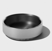 SteelForme Brushed 10cm Stainless Steel Double Wall Round Bowl