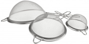 ExcelSteel 3-Piece All Purpose Strainer Set