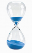 Large Hand-Blown Hourglass Measures One Hour