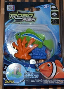 Robo Fish Water Activated - Green Fish with Coral