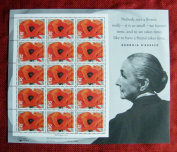 GEORGIA O'KEEFFE US Postage Sheet of 15 32 Cent Stamps Scott 3069