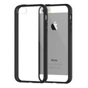 iPhone 5s Case, JETech® Apple iPhone 5/5S Case Bumper Shock-Absorption Bumper and Anti-Scratch Clear Back for iPhone 5/5S