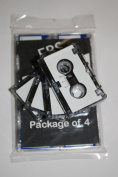 EBS MC-30 Microcassette Recording Tapes..Package of 4