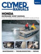 Honda 2-130 HP A-Series 4-Stroke Outboard Motor Repair Manual