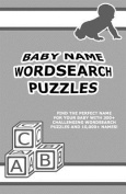 Baby Name Wordsearch Puzzles