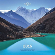 Lonely Planet Wall Calendar 2016