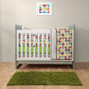 Bananafish Studio Geo Circle Crib Bedding Comforter