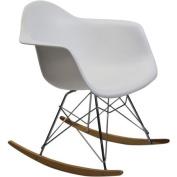 Fine Mod Rocker Arm Chair, Choose Your Colour